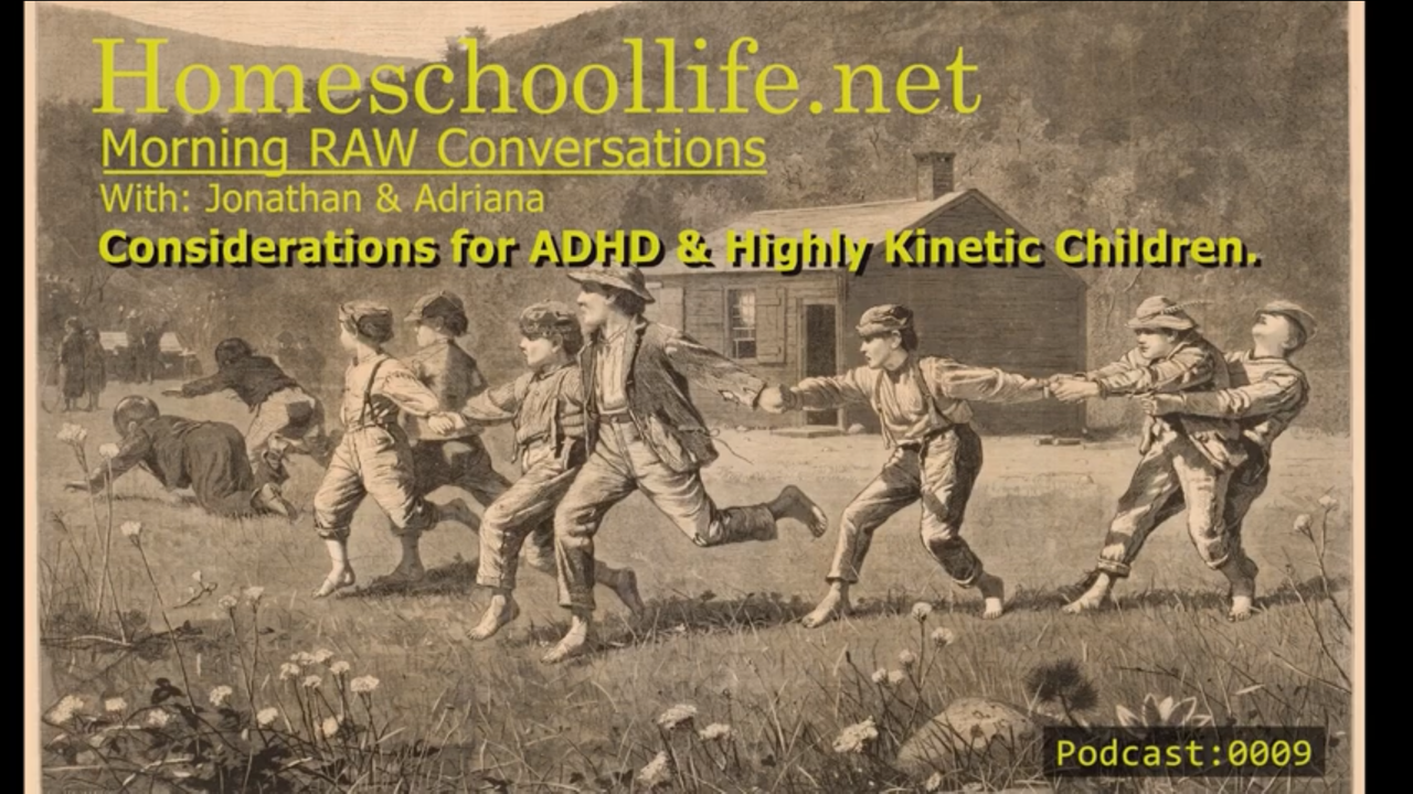 (Podcast 0009) Conversation on ADHD and Highly Kinetic Children